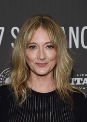 Judy Greer went boho with this wavy 'do at the Sundance premiere of 'Lemon.'