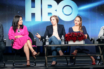 Lena Dunham Jemima Kirke Winter TCA Tour: Day 1