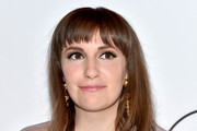 Lena Dunham Medium Straight Cut with Bangs