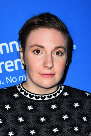 Lena Dunham kept it casual with this short side-parted 'do at the Sex, Politics & Film cocktail reception.
