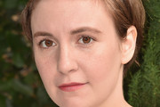 Lena Dunham Short Side Part