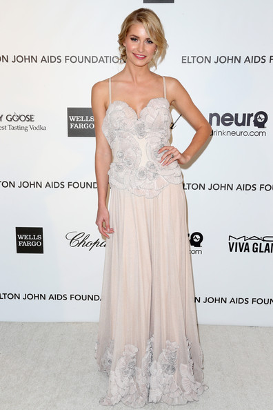 Lena Gercke Evening Dress