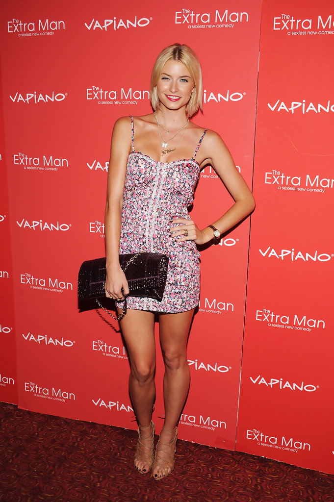 Lena Gercke Print Dress Lena Gercke Clothes Looks