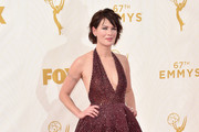 Lena Headey Halter Dress