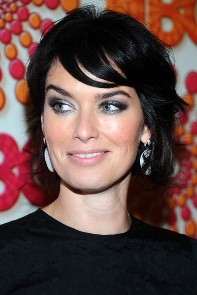 Lena Headey Layered Razor Cut