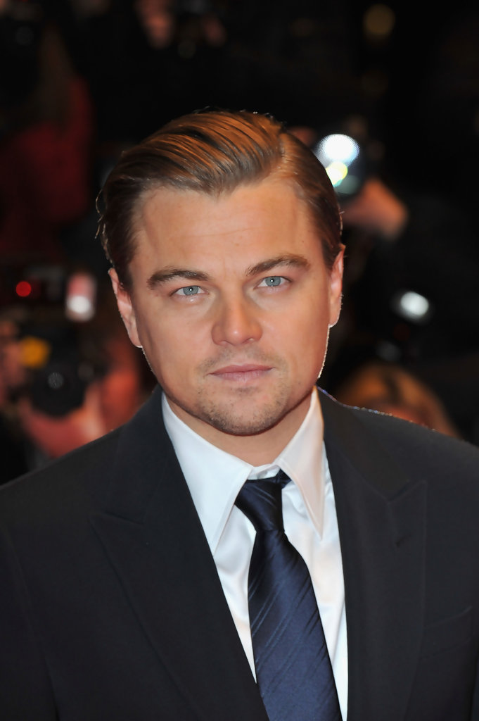 Leonardo Dicaprio Short Side Part Leonardo Dicaprio Hair