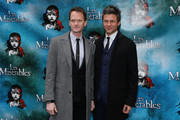 Neil Patrick Harris and David Burtka attend the opening night of Cameron Mackintosh's new production of Boublil and Schonberg's 'Les Miserables' on Broadway at The Imperial Theatre on March 23, 2014 in New York City.