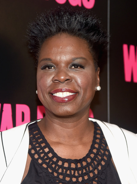 Leslie Jones Spiked Hair