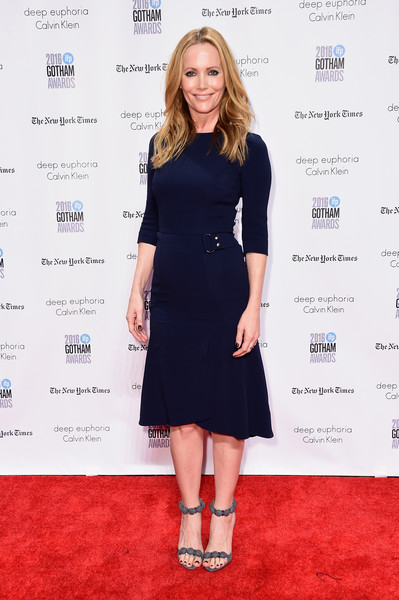 Leslie Mann Midi Dress