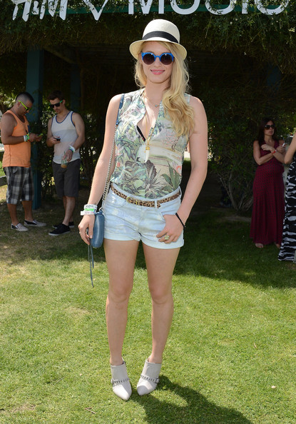 Leven Rambin Denim Shorts