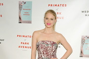 Leven Rambin Strapless Dress