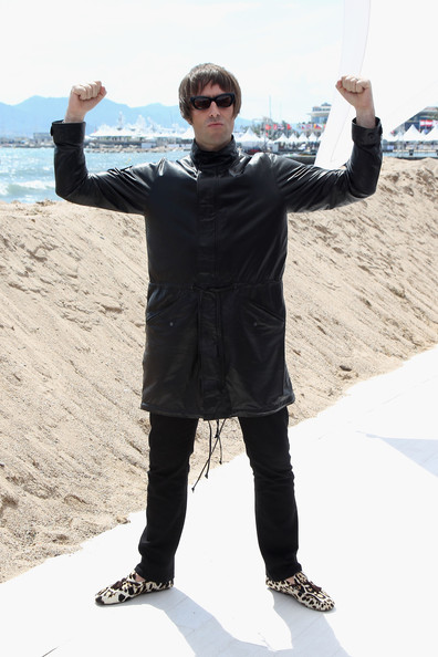 Liam Gallagher Leather Jacket Images