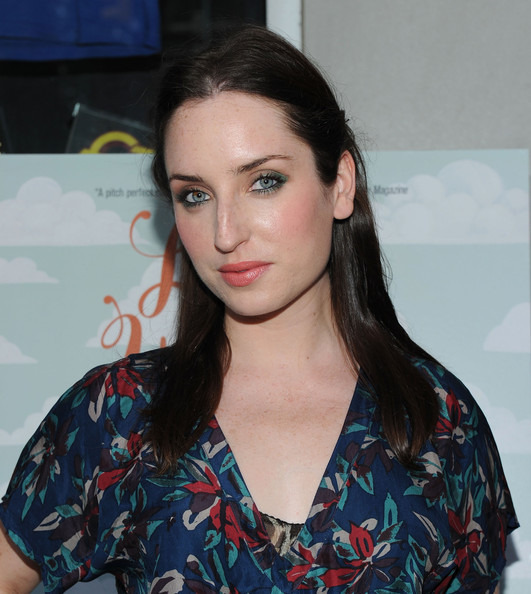 Zoe Lister showed off her long layered locks while walking the red carpet at a New York premiere.