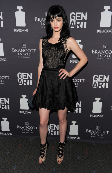 More Pics of Krysten Ritter Little Black Dress (28 of 33) - Krysten Ritter Lookbook - StyleBistro