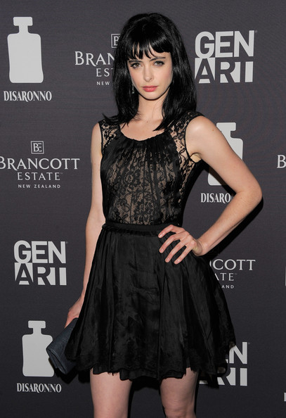 More Pics of Krysten Ritter Little Black Dress (29 of 33) - Krysten Ritter Lookbook - StyleBistro