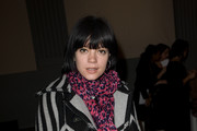 Lilly Allen Patterned Scarf