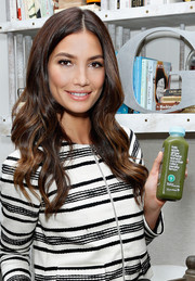 Lily Aldridge showed off the most perfectly sweet waves during her Fall Refresh collection celebration.