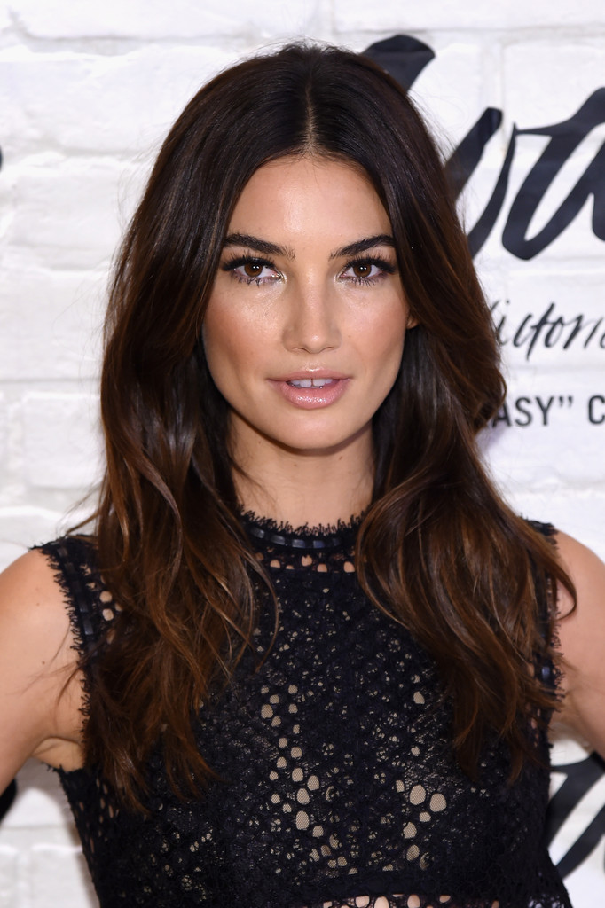 Lily Aldridge Long Wavy Cut - Lily Aldridge Looks
