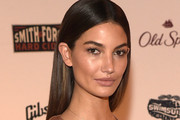 Lily Aldridge Long Straight Cut