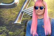 Lily Allen Long Straight Cut with Bangs