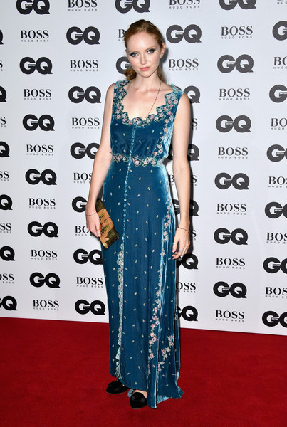 Lily Cole Embroidered Dress