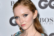 Lily Cole Long Partially Braided