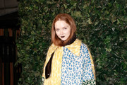 Lily Cole Printed Coat