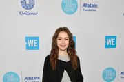 Lily Collins Oversized Jacket