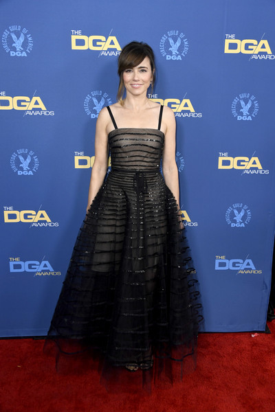 Linda Cardellini Princess Gown [clothing,red carpet,carpet,dress,flooring,shoulder,hairstyle,premiere,fashion,cocktail dress,arrivals,linda cardellini,directors guild of america awards,hollywood highland center,the ray dolby ballroom,california]