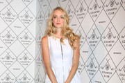 Lindsay Ellingson Mini Dress