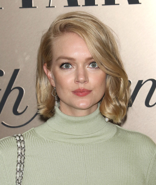 Lindsay Ellingson Short Wavy Cut [hair,face,blond,hairstyle,lip,eyebrow,beauty,layered hair,long hair,chin,lindsay ellingson,list,new york city,lavenue,vanity fair]