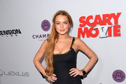 Lindsay Lohan Little Black Dress