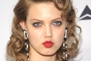 Lindsey Wixson Red Lipstick