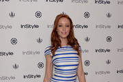 Lindy Booth Print Dress