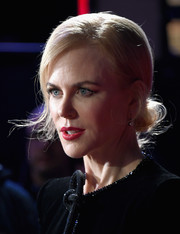 Nicole Kidman oozed vintage glamour wearing this chignon at the BFI London Film Festival screening of 'Lion.'