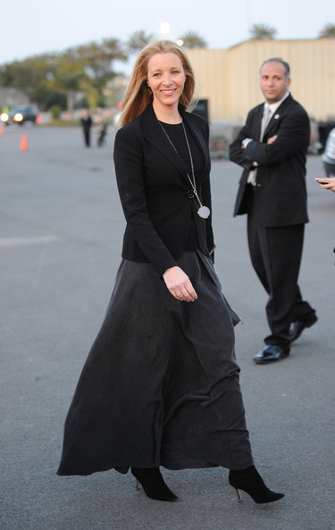 Lisa Kudrow Long Skirt
