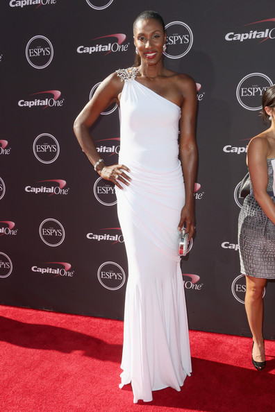 Lisa Leslie One Shoulder Dress