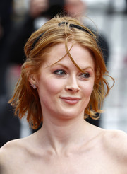 Emily Beecham wore her hair in messy waves at the Cannes Film Festival screening of 'Little Joe.'