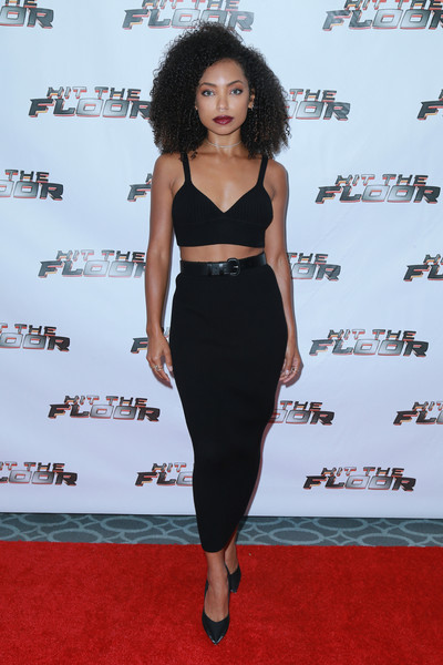 Logan Browning Pencil Skirt