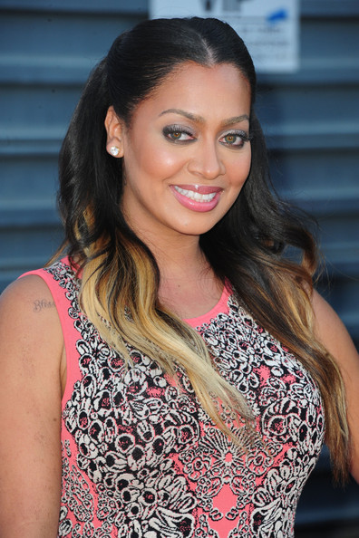 More Pics of La La Anthony Long Wavy Cut (1 of 4) - Long Wavy Cut Lookbook - StyleBistro