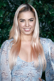 Amber Le Bon looked super cool with her pink layered cut at the London Evening Standard Theatre Awards.
