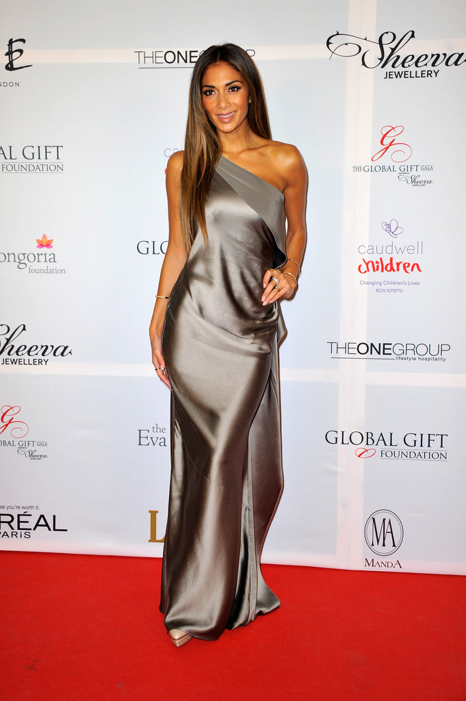 Nicole Scherzinger attends the London Global Gift Gala at ME Hotel on November 19, 2013 in London, England.