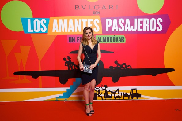 More Pics of Ana de Armas Strappy Sandals (1 of 8) - Heels Lookbook - StyleBistro [competition,advertising,performance,los amantes pasajeros,premiere party,los amantes pasajeros premiere party at casino de madrid on march,spanish actress ana de armas,madrid,spain]