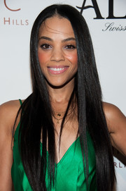 Bianca Lawson sported an enviably sleek straight hairstyle at the LA Confidential pre-Emmy celebration.