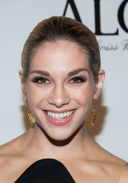 Allison Holker went to the LA Confidential pre-Emmy celebration wearing her hair in a neat ponytail.