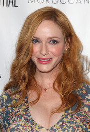 Christina Hendricks looked gorgeous with her flowing red waves at the Los Angeles Confidential Women of Influence event.