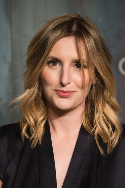 Laura Carmichael looked fabulous with her piecey waves at the Lost in Space event.