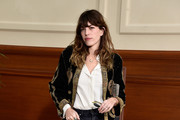 Lou Doillon Suede Loafers