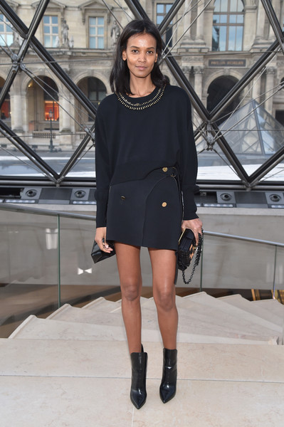 Liya Kebede at Louis Vuitton