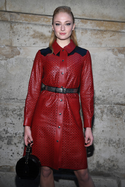 More Pics of Sophie Turner Patent Leather Purse (1 of 3) - Evening Bags Lookbook - StyleBistro
